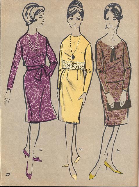 Советская мода 1963 года
