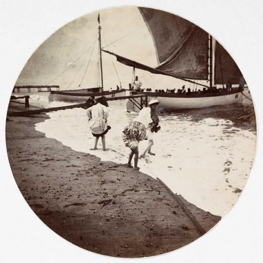 Первые фотографии Kodak