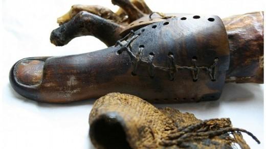 Самые древние протезы