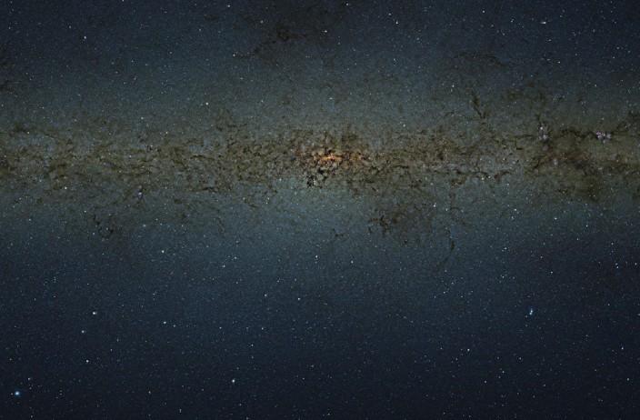 Млечный Путь в 9 миллиардах пикселей