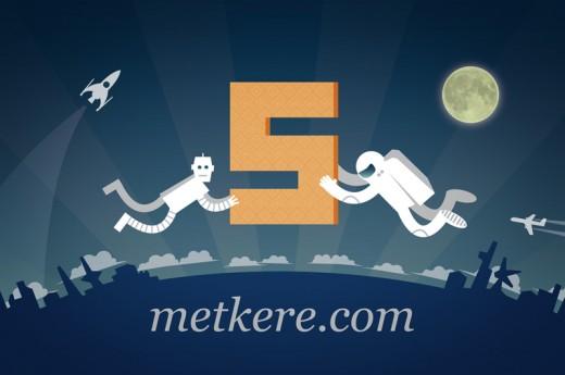 metkere.com исполнилось 5 лет