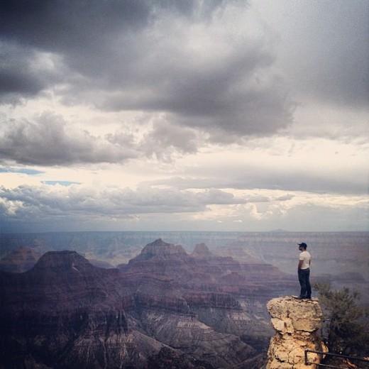 Фото с каньоном