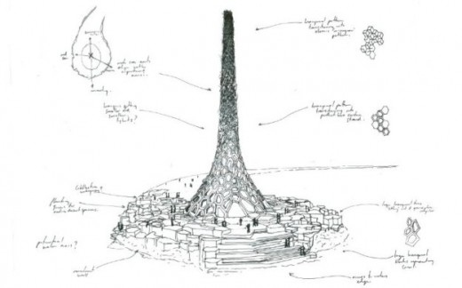 kaust-lighthouse-sketch